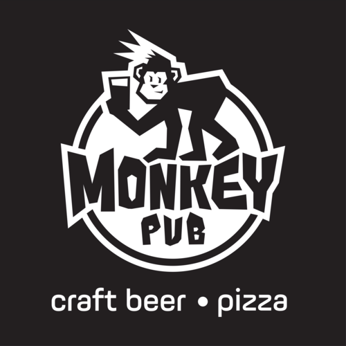 Monkey Craft Beer & Pizza Logo